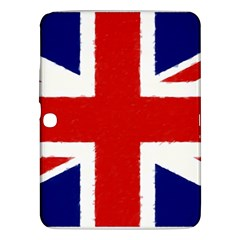 Union Jack Watercolor Drawing Art Samsung Galaxy Tab 3 (10 1 ) P5200 Hardshell Case