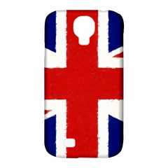 Union Jack Watercolor Drawing Art Samsung Galaxy S4 Classic Hardshell Case (pc+silicone)