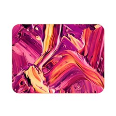 Abstract Acryl Art Double Sided Flano Blanket (mini)