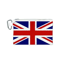 Union Jack Watercolor Drawing Art Canvas Cosmetic Bag (s)