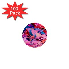 Abstract Acryl Art 1  Mini Magnets (100 Pack)
