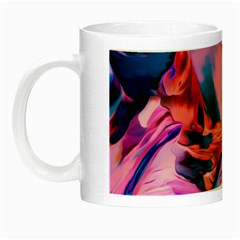 Abstract Acryl Art Night Luminous Mugs