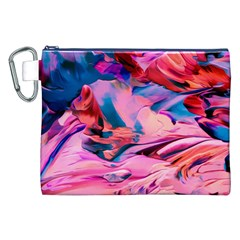 Abstract Acryl Art Canvas Cosmetic Bag (xxl)