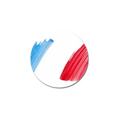 France Flag, Banner Watercolor Painting Art Golf Ball Marker (4 Pack)