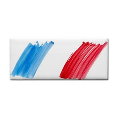 France Flag, Banner Watercolor Painting Art Cosmetic Storage Cases