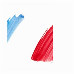 France Flag, Banner Watercolor Painting Art Large Garden Flag (two Sides)