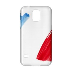 France Flag, Banner Watercolor Painting Art Samsung Galaxy S5 Hardshell Case