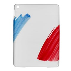 France Flag, Banner Watercolor Painting Art Ipad Air 2 Hardshell Cases