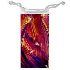Abstract Acryl Art Jewelry Bag