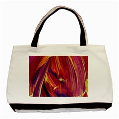 Abstract Acryl Art Basic Tote Bag