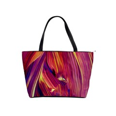 Abstract Acryl Art Shoulder Handbags