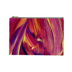Abstract Acryl Art Cosmetic Bag (large)
