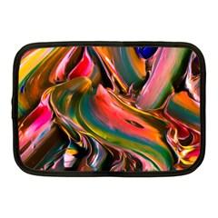 Abstract Acryl Art Netbook Case (medium)