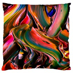 Abstract Acryl Art Large Cushion Case (two Sides)
