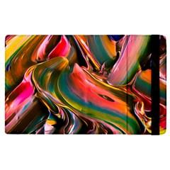 Abstract Acryl Art Apple Ipad Pro 12 9   Flip Case
