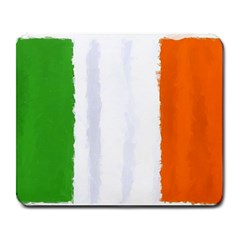 Flag Ireland, Banner Watercolor Painting Art Large Mousepads