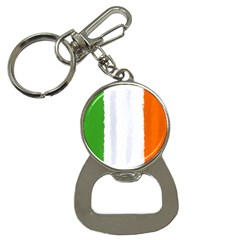 Flag Ireland, Banner Watercolor Painting Art Button Necklaces