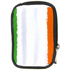 Flag Ireland, Banner Watercolor Painting Art Compact Camera Cases
