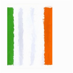 Flag Ireland, Banner Watercolor Painting Art Large Garden Flag (two Sides)