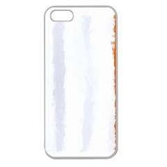 Flag Ireland, Banner Watercolor Painting Art Apple Seamless Iphone 5 Case (clear)