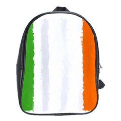 Flag Ireland, Banner Watercolor Painting Art School Bag (xl)
