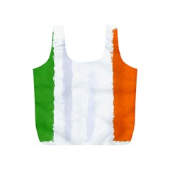 Flag Ireland, Banner Watercolor Painting Art Full Print Recycle Bags (s)