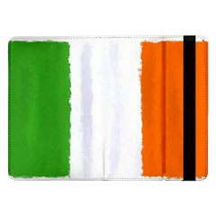 Flag Ireland, Banner Watercolor Painting Art Samsung Galaxy Tab Pro 12 2  Flip Case