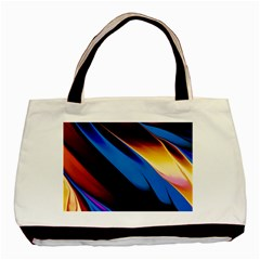Abstract Acryl Art Basic Tote Bag (two Sides)