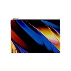 Abstract Acryl Art Cosmetic Bag (medium)