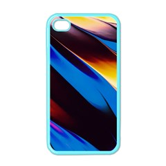 Abstract Acryl Art Apple Iphone 4 Case (color)