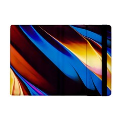 Abstract Acryl Art Apple Ipad Mini Flip Case