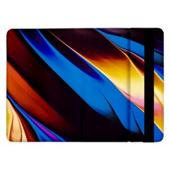 Abstract Acryl Art Samsung Galaxy Tab Pro 12 2  Flip Case