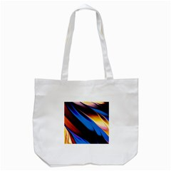 Abstract Acryl Art Tote Bag (white)