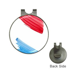 Tricolor Banner Watercolor Painting Art Hat Clips With Golf Markers