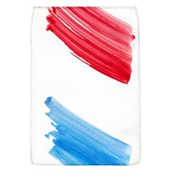 Tricolor Banner Watercolor Painting Art Flap Covers (l)