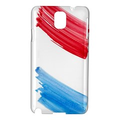 Tricolor Banner Watercolor Painting Art Samsung Galaxy Note 3 N9005 Hardshell Case