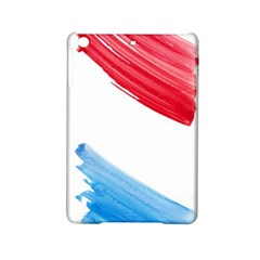 Tricolor Banner Watercolor Painting Art Ipad Mini 2 Hardshell Cases