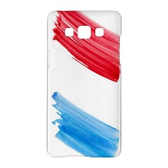 Tricolor Banner Watercolor Painting Art Samsung Galaxy A5 Hardshell Case