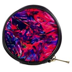 Abstract Acryl Art Mini Makeup Bags
