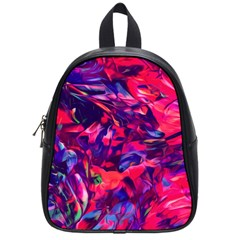 Abstract Acryl Art School Bag (small)