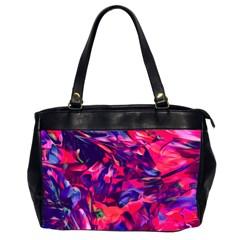 Abstract Acryl Art Office Handbags (2 Sides)