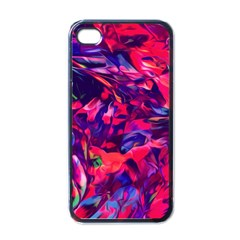 Abstract Acryl Art Apple Iphone 4 Case (black)