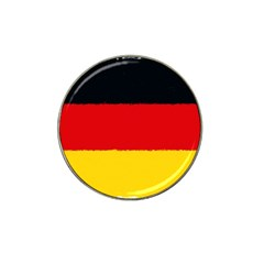 German Flag, Banner Deutschland, Watercolor Painting Art Hat Clip Ball Marker (10 Pack)