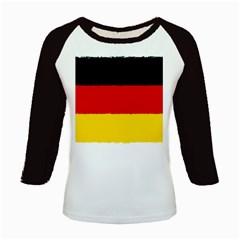German Flag, Banner Deutschland, Watercolor Painting Art Kids Baseball Jerseys
