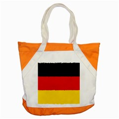 German Flag, Banner Deutschland, Watercolor Painting Art Accent Tote Bag