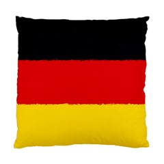 German Flag, Banner Deutschland, Watercolor Painting Art Standard Cushion Case (two Sides)