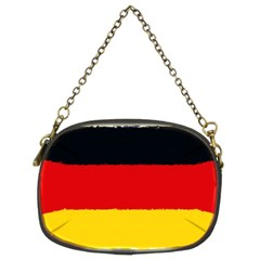 German Flag, Banner Deutschland, Watercolor Painting Art Chain Purses (two Sides)