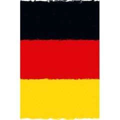 German Flag, Banner Deutschland, Watercolor Painting Art 5 5  X 8 5  Notebooks