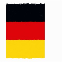 German Flag, Banner Deutschland, Watercolor Painting Art Small Garden Flag (two Sides)