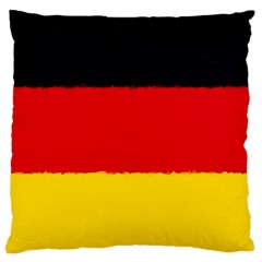 German Flag, Banner Deutschland, Watercolor Painting Art Large Cushion Case (one Side)